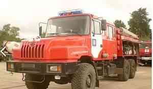 Пожарная машина урал -4320 ац 6.0-100