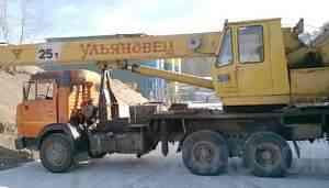 автокран мкт-25 камаз 532150 ульяновец