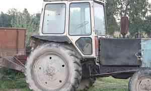 трактор юмз и телеги