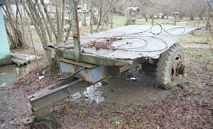 Прицеп тракторный одноосный самосвал