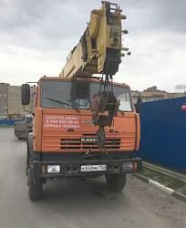 Автокран 25 тон юрга