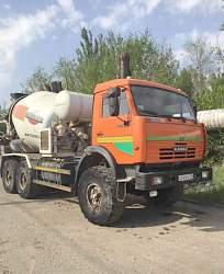 Автобетоносмеситель 69360К на шасси камаз 43118-01