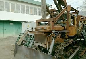 Бурильно-крановая машина на базе дт-75