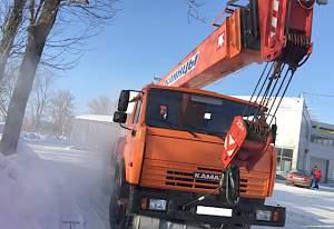 Автокран 25 тонн Клинцы 2012 г