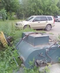машину уборочную (подметальный бункер)