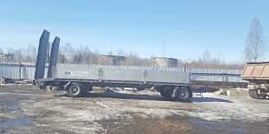 Прицеп трал 2010г г/п15 тонн тверьстроймаш