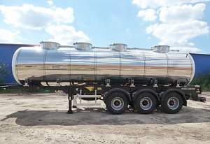 Цистерна пищевая молоковоз водовоз бочка Menci