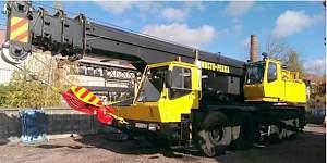 Автокран krupp KMK-4070