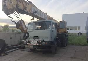 Кран мотовилиха 30 тн кс-5579.21