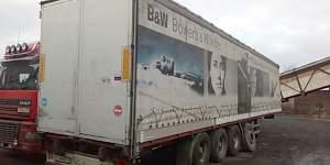 Шторный полуприцеп Фрюхауф 2004г