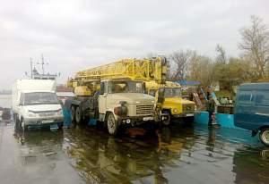 Автокран 30т