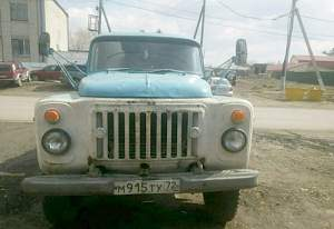 ассенизаторскую машину газ 53