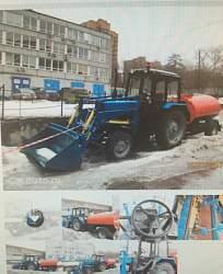 Мтз (Беларус) 82.1 трактор с полным оборудованием