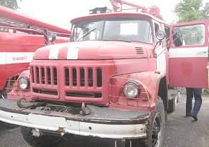 Пожарный автомобиль ац-40 на шасси ЗИЛ-131