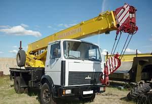 Автокран Ивановец 17 тонн кс 35715-2