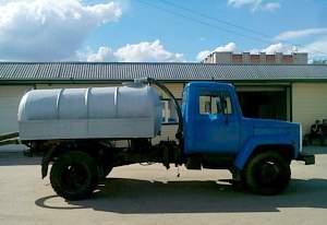 Ассенизатор газ-3307