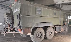 Грузовой фургон вахтовый автобус камаз