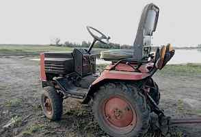 Мини трактор кмз-012