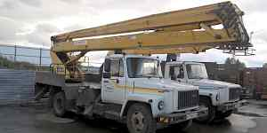 Автовышка Газ-3309 вс-22.02 2008года