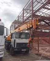 Автокран Машека 25 тонн стрела 28 метров