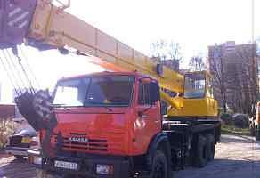 Кран Ивановец 25 тонн