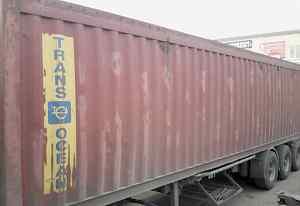 открытый контейнер для перевозки металлолом