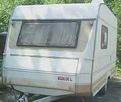 Жилой прицеп-дача, кемпер dethleffs caravans 1989