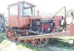 Трактор дт - 75 - бульдозер