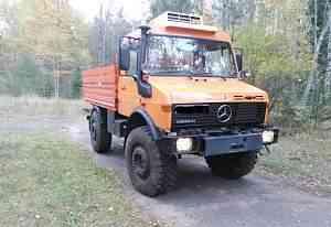 Mercedes Unimog U1650