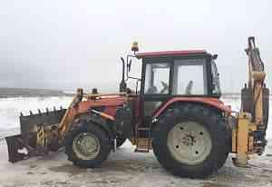 Трактор мтз-92П с навеской пэ-82