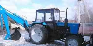 Трактор экскаватор Мтз 82.1 (2010 год)