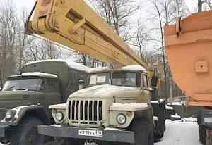 Автогидроподъёмник вс-22.05 на шасси Урал-4320