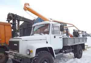 Бурильно-крановая машина бкм-302 Газ-33081 2003г