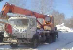 Автокран Камаз-53213 (мта-160) 1994 г. (есть ндс)