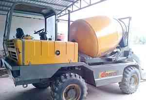 Самозагружающейся бетоносмеситель dieci L 3500