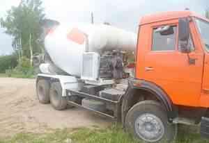 Автобетоносмеситель миксер камаз 53229 7куб 2007г