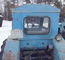 трактор Т-40 ам с телегой