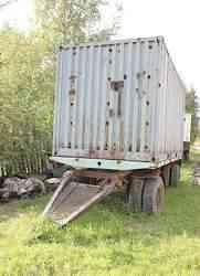 Прицеп контейнеровоз с контейнером