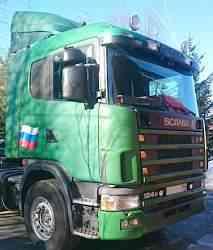 Седельный тягач scania R 124, 1998 года, 360 л. с