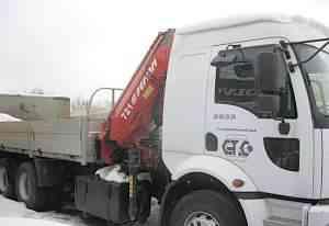 Кран манипулятор Ford Cargo 2532