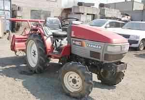 Японский мини трактор Yanmar F180