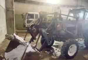 трактор мтз 82 с фронтальным погрузчиком