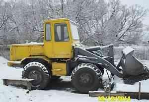 Трактор, погрузчик фронтальный то-6
