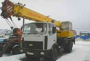 Автокран маз кс35715