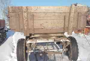 Трактор Т-40 и прицеп с документами