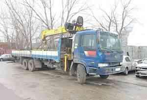 Кран манипулятор Сусан 746 7 тонн