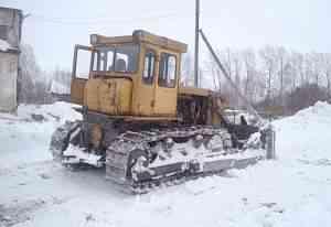 Трактор бульдозер Т-130