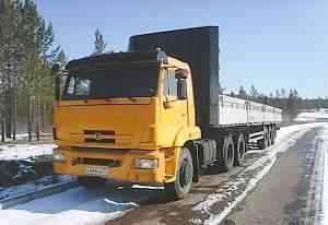 Камаз 65116 2011г. с п/прицепом Krone 1999г